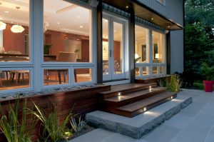 Exterior lighting design and installation